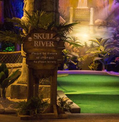 Lost City Adventure Golf Explore Skull River 1